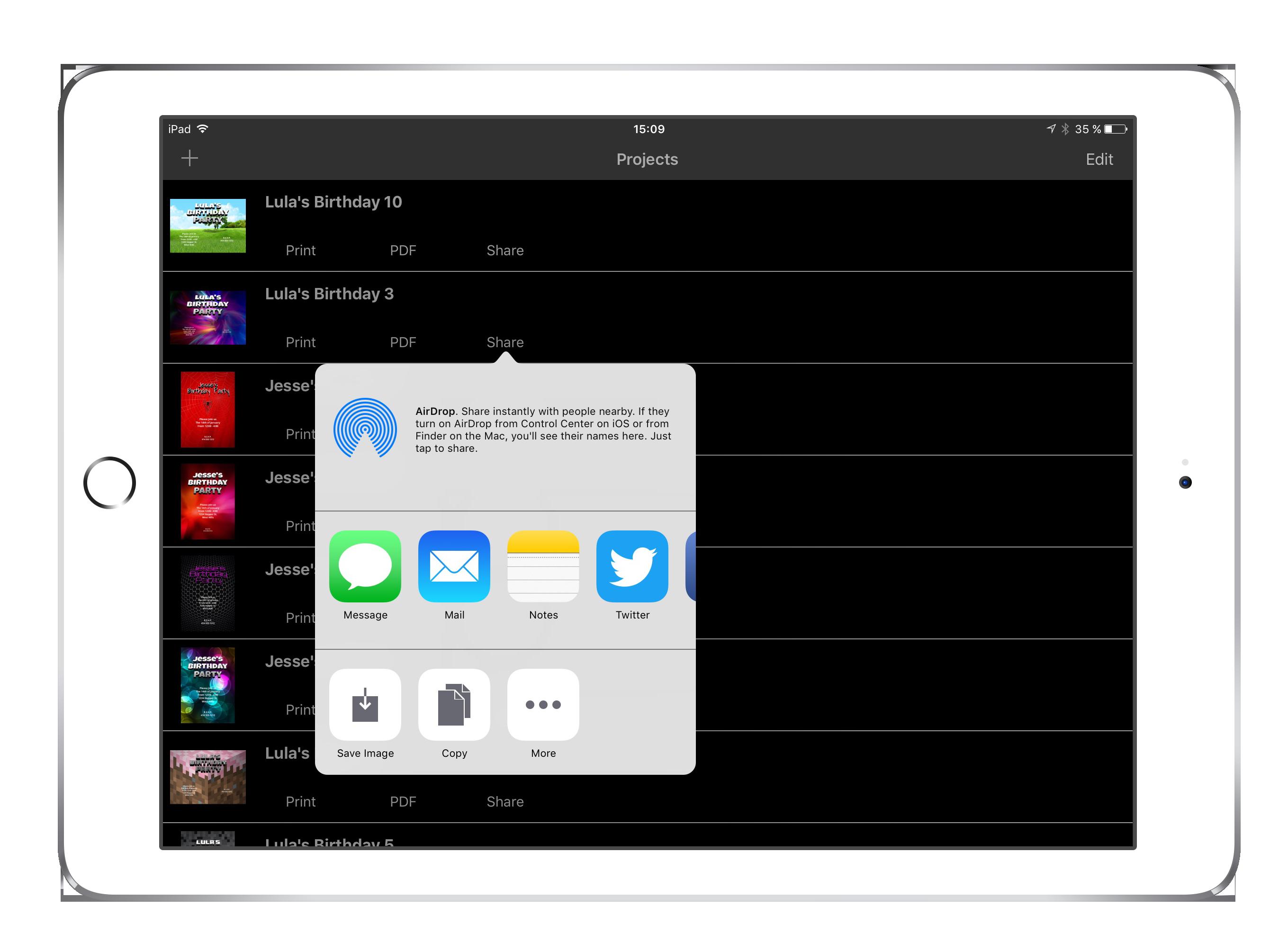3d invite maker features stopboris Gallery
