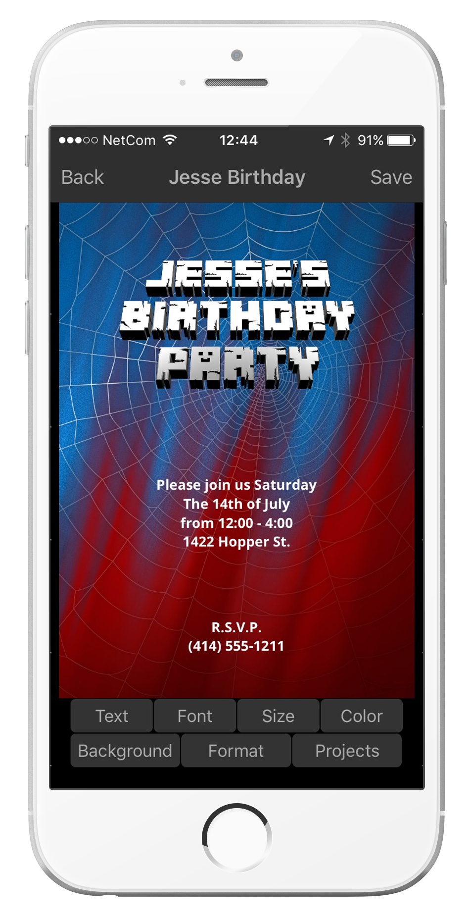 d invite maker party invitations